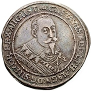 ½ Thaler - Gustav Adolph II. (Death) – avers
