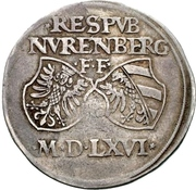 ½ Reichsguldinger – avers