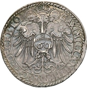 1 Reichsguldiner – revers
