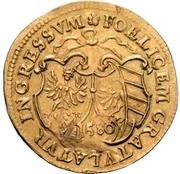 1 Goldgulden (Emperor's visit) – avers