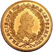 20 Kreuzer (Gold pattern strike) – revers
