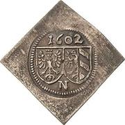 1 Pfennig (Klippe) – avers