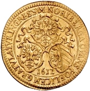 1 Goldgulden (Imperial visit) – avers