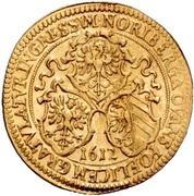1 Goldgulden (Imperial visit) – avers
