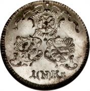 1 Kreuzer (4 Pfennig) – avers