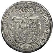 1 Thaler - Gustav Adolph II. – revers