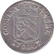 2½ kreuzer Josef II – avers