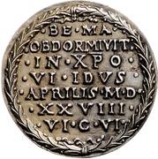 Medal - Death of Albrecht Dürer (Nürnberg) – revers
