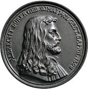 Medal - Albrecht Dürer (Nürnberg; 300 years of death) – avers