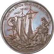 Medal - 100th anniversary of the wednesday-shooting-society (Mitwochsschiess-Gesellschaft; Nürnberg) – avers