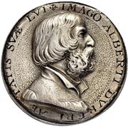 Medal - Albrecht Dürer and Dorothea Susanne von der Pfalz (Nürnberg) – avers