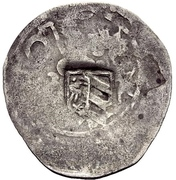 1 Prague Groschen (Counterstamped) – avers
