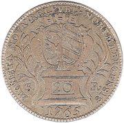 20 kreuzer Francois I de Lorraine – avers