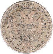 20 kreuzer Francois I de Lorraine – revers