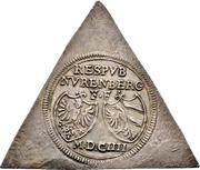 ½ Reichsguldiner (Klippe) – avers