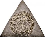 ½ Reichsguldiner (Klippe) – revers