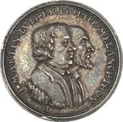 ½ ducat (Frappe d'essai argent) – avers