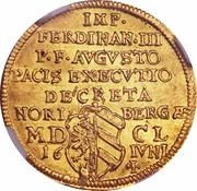 1 ducat paix de Westphalie – revers