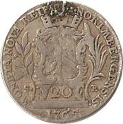 20 Kreuzer - Joseph II – avers