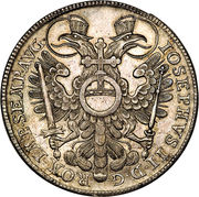 1 thaler Joseph II – revers