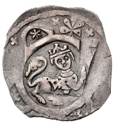1 Pfennig - Friedrich II. – avers
