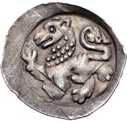 1 Pfennig - Friedrich II. – revers