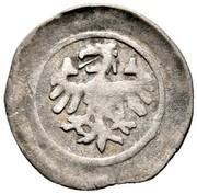 1 Pfennig - Karl IV., Wenzel, Ruprecht von der Pfalz and Sigismund (Wenzelpfennig) – avers