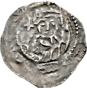 1 Dünnpfennig - Konrad III. – avers
