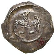 1 pfennig Heinrich VI et Interregnum – revers