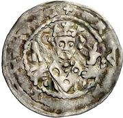 1 Denar - Rudolf von Habsburg – avers