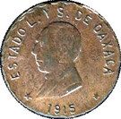 5 Centavos (Provisional Government) – avers