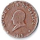 1 centavo (Oaxaca) – avers