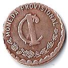 1 centavo (Oaxaca) – revers
