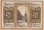 50 Pfennig (Oberlind) – revers