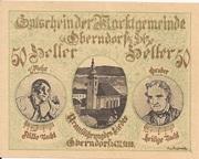 50 Heller (Oberndorf a. d. Salzach) -  avers