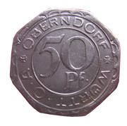 50 pfennig - Oberndorf – avers