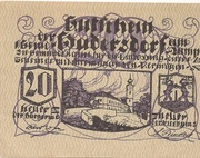 20 Heller (Oberweissenbach und Bernhardschlag) -  avers