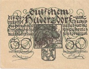 50 Heller (Oberweissenbach und Bernhardschlag) -  avers