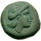 Bronze Æ17 (Odessos) – avers