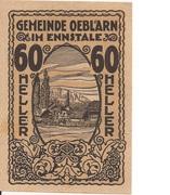 60 Heller (Oeblarn im Ennstal) -  avers