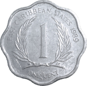 1 cent Elizabeth II (2e effigie) -  revers