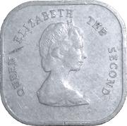 2 cents Elizabeth II (2e effigie) – avers