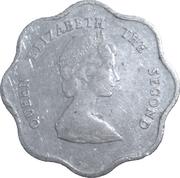 5 cents Elizabeth II (2e effigie) -  avers