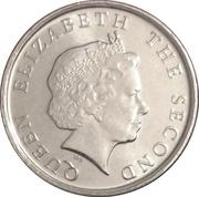 10 cents Elizabeth II (4e effigie, magnétique) – avers