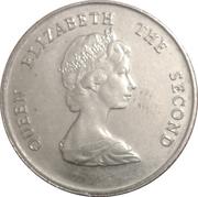 25 cents Elizabeth II (2e effigie) – avers