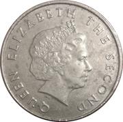 25 cents Elizabeth II (4e effigie) – avers