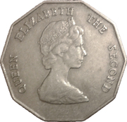 1 dollar Elizabeth II (2e effigie) -  avers