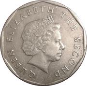 1 dollar Elizabeth II (4e effigie) – avers