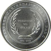 1 dollar (Banque centrale) – revers