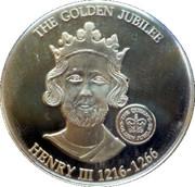 1 Dollar Elizabeth II (Henry III 1216-1266) – revers